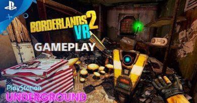 Borderlands 2 VR Gameplay | PlayStation Underground