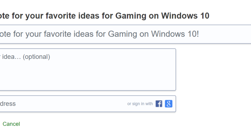 New Idea Drive Available: Improving Gaming on Windows 10