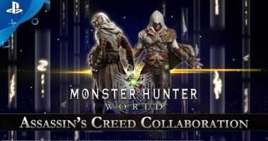 Monster Hunter: World - Assassin's Creed Collaboration Trailer | PS4