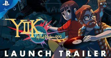 YIIK: A Post-Modern RPG - Launch Trailer | PS4