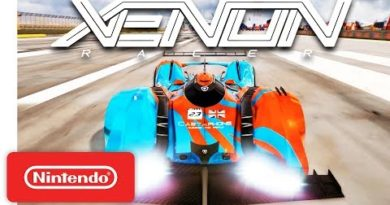 Xenon Racer - Release Date Trailer - Nintendo Switch