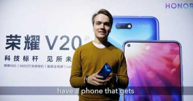 HONOR View20: What's Your First Impression?