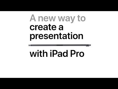 iPad Pro — A new way to create a presentation — Apple