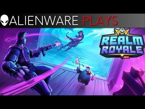 Alienware Plays Realm Royale - Gameplay on Area-51m PC Gaming Laptop