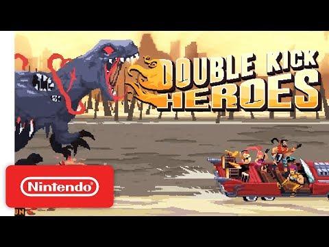 Double Kick Heroes - Announcement Trailer - Nintendo Switch