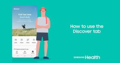 Samsung Health: How to use the Discover tab