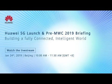 Huawei Mobile 5G launch-We're Live
