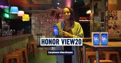 HONOR View20 hands-on