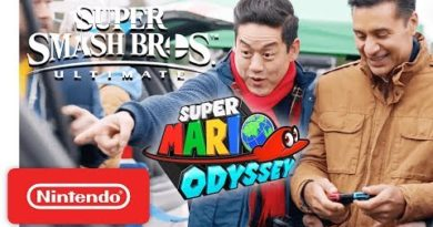 Nintendo Switch My Way – Super Mario Odyssey & Super Smash Bros. Ultimate