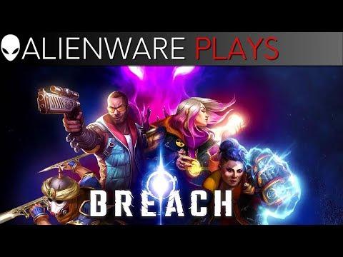 Breach Gameplay on Alienware Aurora Gaming PC (GTX 1080 Ti)
