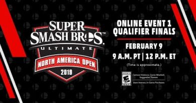 Super Smash Bros. Ultimate North America Open 2019 Online Event 1 Qualifier Finals