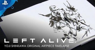 Left Alive - Yoji Shinkawa Original Artpiece: Long Version   PS4