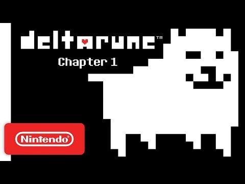 DELTARUNE Chapter 1 - Announce Trailer - Nintendo Switch