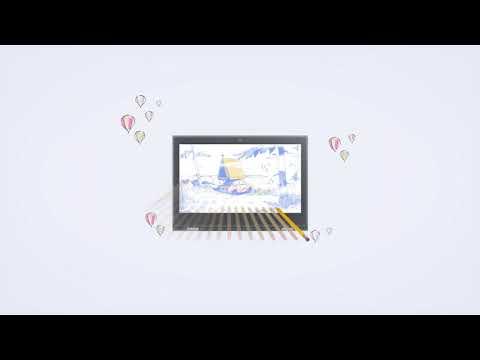 Lenovo 300e Pencil Touch Tour