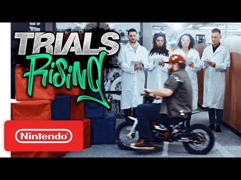 Trials Rising - Post-Launch Trailer - Nintendo Switch