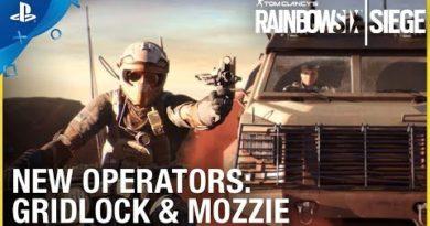 Rainbow Six Siege: Operation Burnt Horizon – Gridlock & Mozzie Trailer | PS4