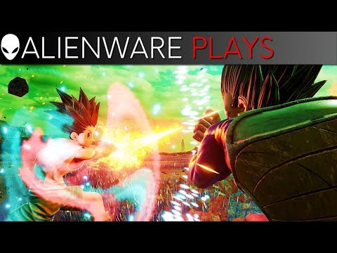 Jump Force Gameplay on Alienware m15 PC Gaming Laptop (RTX 2070 Max-Q)