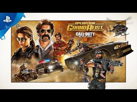 Call of Duty: Black Ops 4 - Operation Grand Heist Trailer | PS4