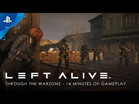 Left Alive - Through the Warzone: 14 Minutes of Gameplay | PS4