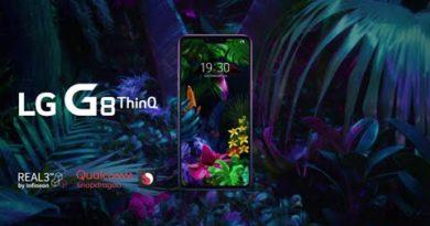 LG G8 ThinQ: Product Video