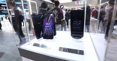 MWC 2019: LG V50 ThinQ Experience Zone Highlights