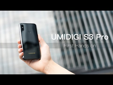 UMIDIGI S3 Pro Hands-on: World's First 48MP Ceramic Phone!