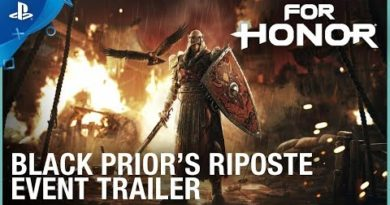 For Honor - Black Prior's Riposte Event  Trailer | PS4