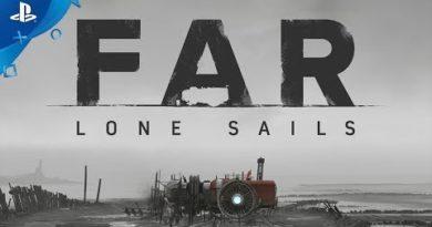 FAR: Lone Sails – Announcement Trailer | PS4