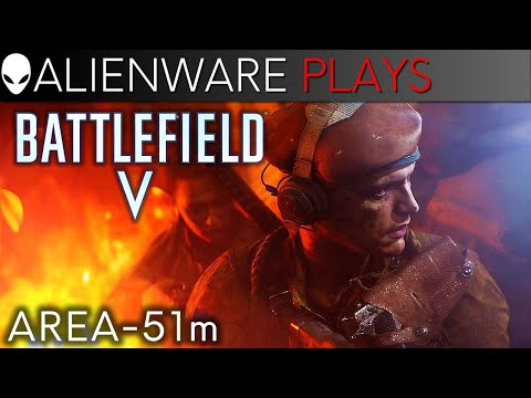 Battlefield V Gameplay - Area-51m Gaming Laptop (RTX 2080)