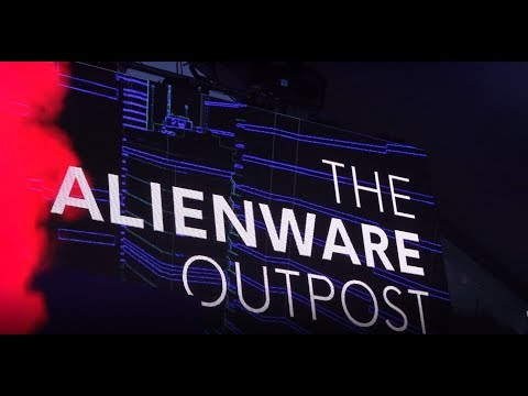 The Alienware Outpost at SXSW 2019