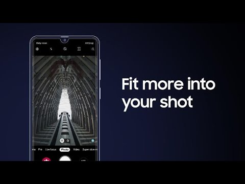 Galaxy A50: How to shoot with Wide & Ultra Wide cameras