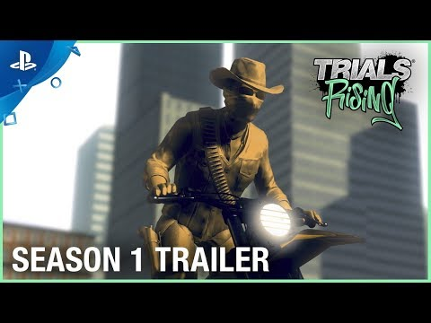 Trials Rising - Season 1: The Race Is On   PS4