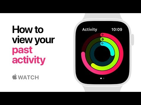 Apple Watch Series 4 — How to view your past activity — Apple