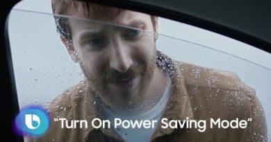 Bixby: Turn on power saving mode
