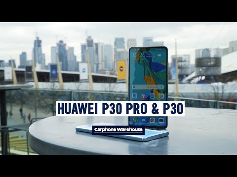The Huawei P30 is here!