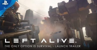 Left Alive - The Only Option is Survival: Launch Trailer  | PS4