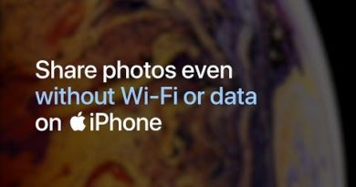 iPhone — Share photos even without WiFi or data — Apple