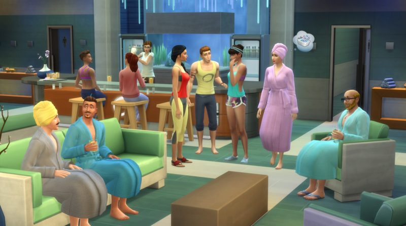 The Sims 4 Spa Day is Now Available, Plus Mouse and Keyboard Support on Xbox One