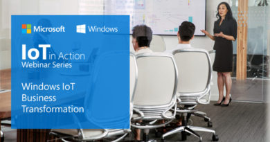 Evolution of Windows IoT: The foundation for your intelligent edge