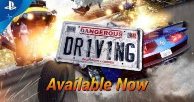 Dangerous Driving - Launch Trailer | PS4
