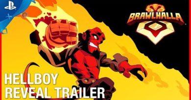 Brawlhalla - Hellboy Reveal Trailer | PS4