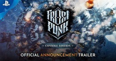 Frostpunk: Console Edition Announcement Trailer | PS4