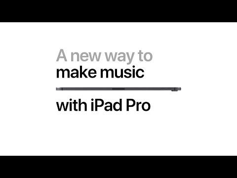 iPad Pro — A new way to make music — Apple