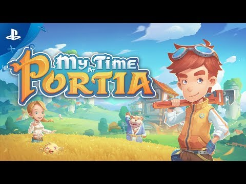 My Time At Portia - Launch Trailer | PS4
