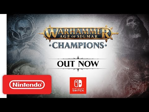 Warhammer Age of Sigmar: Champions - Launch Trailer - Nintendo Switch