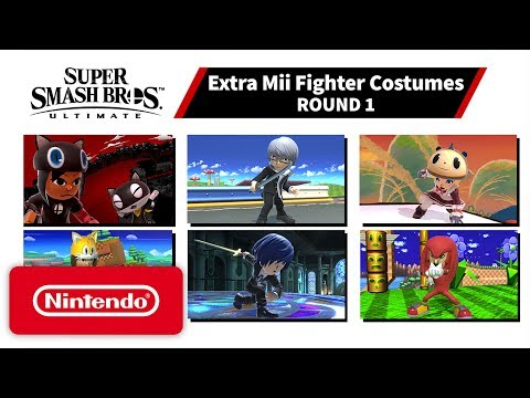 Super Smash Bros. Ultimate – Mii Fighter Costumes #1 – Nintendo Switch
