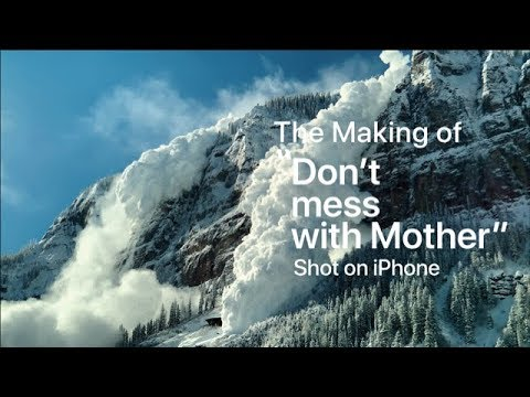 Shot on iPhone XS — The Making of Don't mess with Mother — Apple