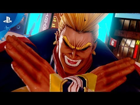 Jump Force - All Might Reveal Trailer | PS4