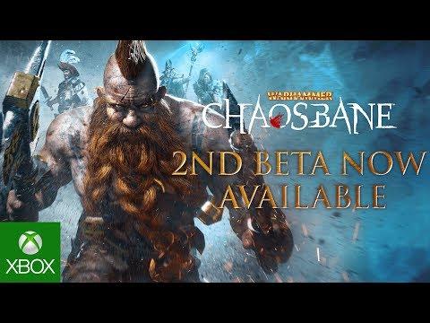 Warhammer: Chaosbane - 2nd Beta Launch Trailer