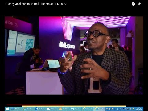 Randy Jackson talks Dell Cinema at CES 2019